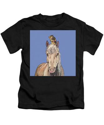 Hortense The Horse Kids T-Shirt
