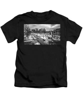 Hudson Falls Business District Kids T-Shirt