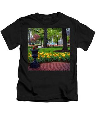 Hudson Falls...a Great Place To Call Home Kids T-Shirt
