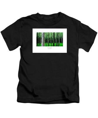 Les Arbres Kids T-Shirt