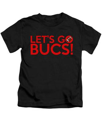Let's Go Bucs Kids T-Shirt