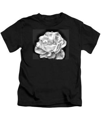 Midnight Rose Kids T-Shirt