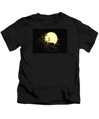 Moonglow Thistles Kids T-Shirt