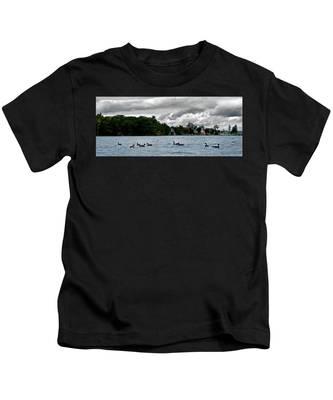 Moose Beach Point Kids T-Shirt