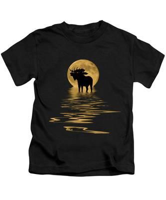 Water Falls Kids T-Shirts