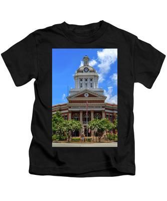 Morgan County Court House Kids T-Shirt