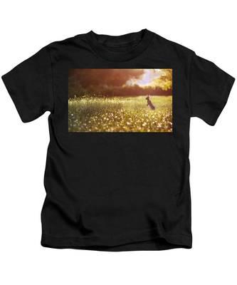 Morning Rabbit Kids T-Shirt