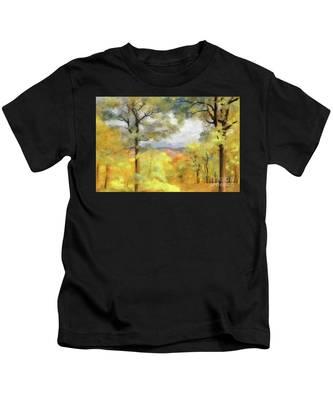 Mountain Morning Kids T-Shirt