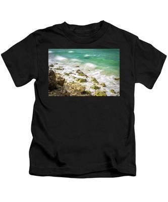 Oceanside In Trelawny, Jamaica Kids T-Shirt