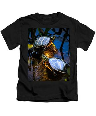 Passing The Day With A Friend Kids T-Shirt