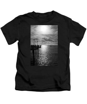 Pier Into The Sun Kids T-Shirt