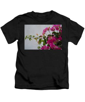 Pinks Portrait Kids T-Shirt
