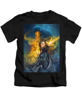 Portal Magician Kids T-Shirt