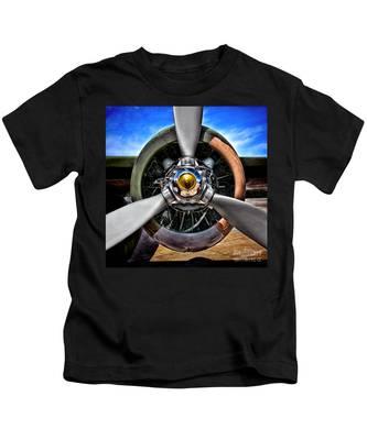 Propeller Art   Kids T-Shirt