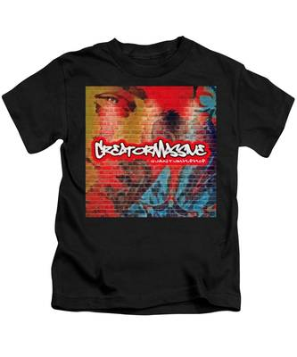 Quantum Hip Hop Kids T-Shirt by Derek Gedney