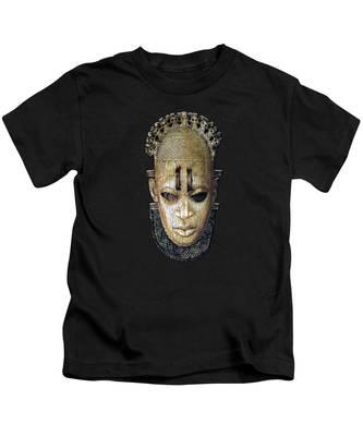 African Mask Kids T-Shirts