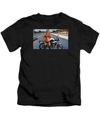 Red Is Not Always For Ducati Kids T-Shirt