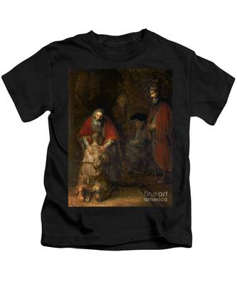 Return Of The Prodigal Son Kids T-Shirt