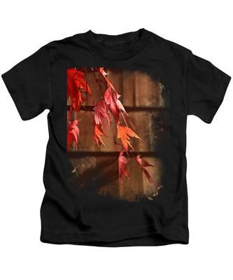 Scarlet Cascade Kids T-Shirt