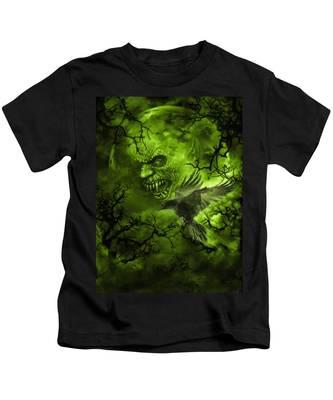 Scary Moon Kids T-Shirt