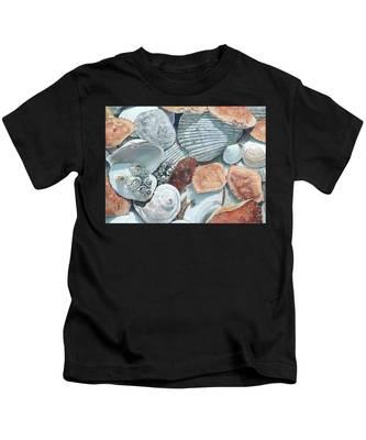 Shells Of The Puget Sound Kids T-Shirt