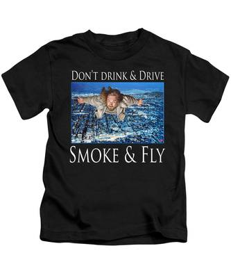 Smoke And Fly Kids T-Shirt