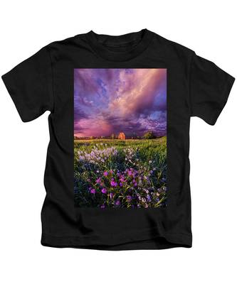 Songs Of Days Gone By Kids T-Shirt