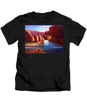Spirits Of The River Kids T-Shirt