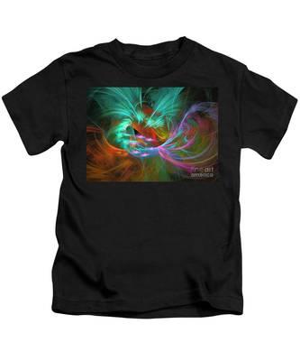Spring Riot - Abstract Art Kids T-Shirt