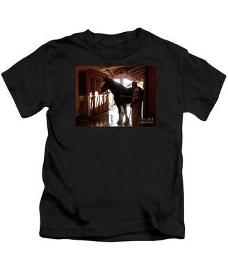 Stable Groom - 1 Kids T-Shirt