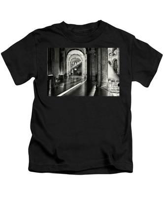 Sunbeam Inside The Church Kids T-Shirt