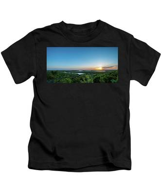Sunset On The Outer Banks Kids T-Shirt