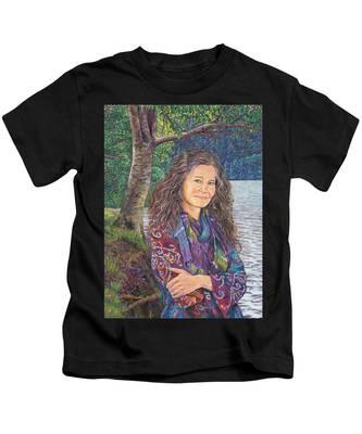 The Color Violet Kids T-Shirt