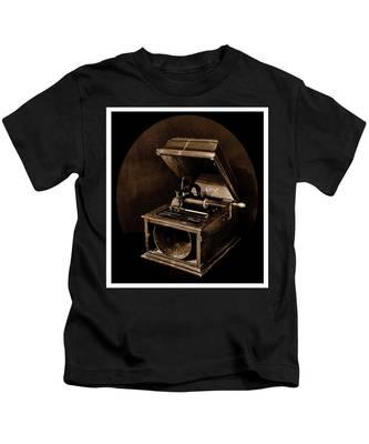 The Old Victrola Kids T-Shirt