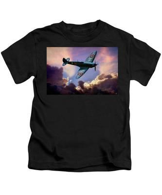 The Supermarine Spitfire Kids T-Shirt