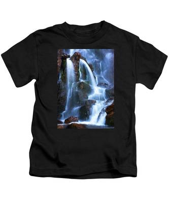Timberline Falls Kids T-Shirt