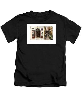 Tobaconist In Kerkyra - Corfu Kids T-Shirt