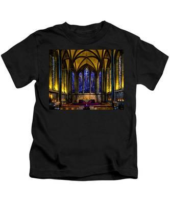Trinity Chapel Salisbury Cathedral Kids T-Shirt