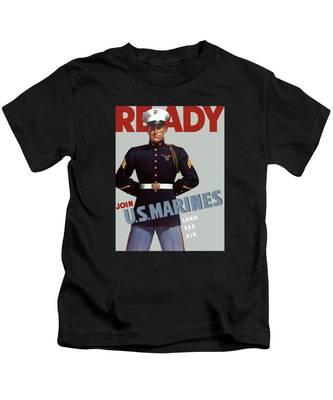 Vintage Military Kids T-Shirts