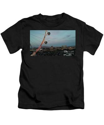 Vegas Strip Kids T-Shirt