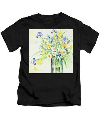 Watercolor Series 143 Kids T-Shirt