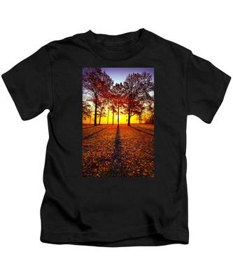 Where You Have Been Is Part Of Your Story Kids T-Shirt