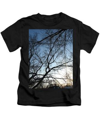 Winter Haze Kids T-Shirt