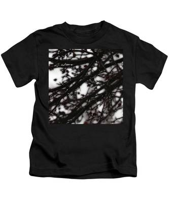 Winter Rain Kids T-Shirt