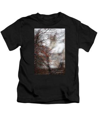 Wintry Mix Kids T-Shirt