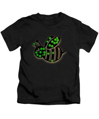 Honeybee Colony Kids T-Shirts
