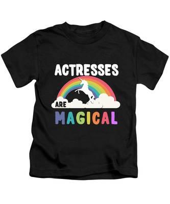 Actress Kids T-Shirts