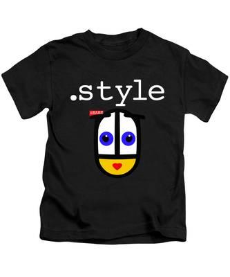 Black Style Ubabe Kids T-Shirt
