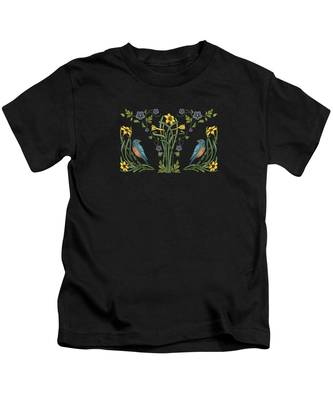 Daffodils Kids T-Shirts