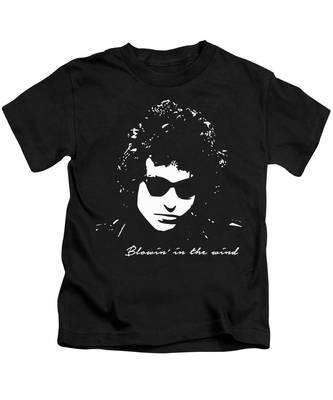 Bob Dylan Rocks Kids T-Shirts